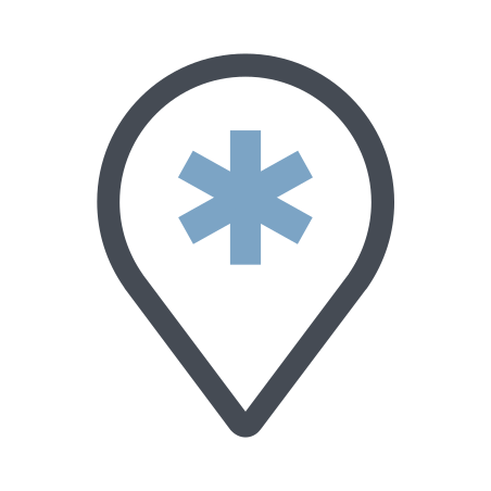 Find Hospital icon