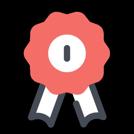 첫 번째 장소 리본 icon