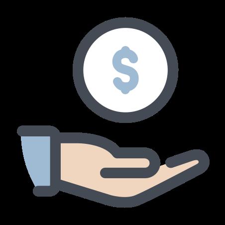获得现金 icon
