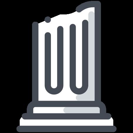 Greek Pillar Base icon
