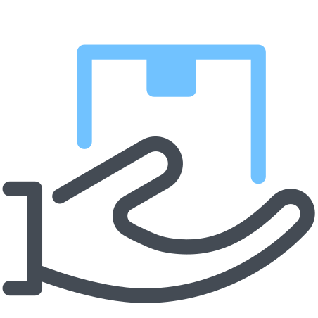 Handle With Care icon in Pastel