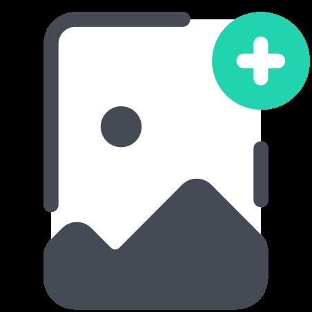 이미지 파일 추가 icon