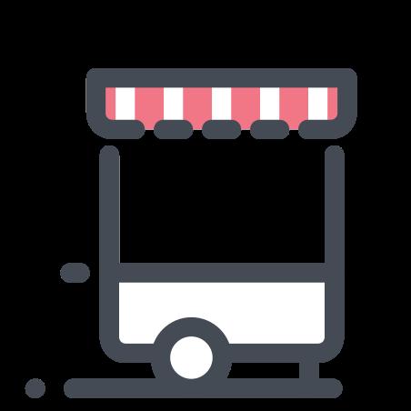 Kiosk on Wheels icon