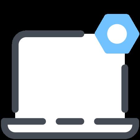 Laptop Settings icon