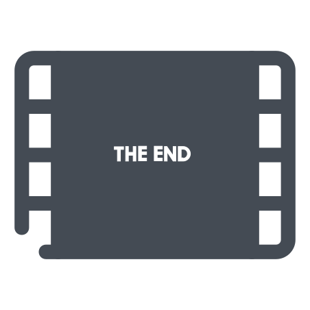 Movie End icon
