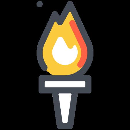 올림픽 성화 icon