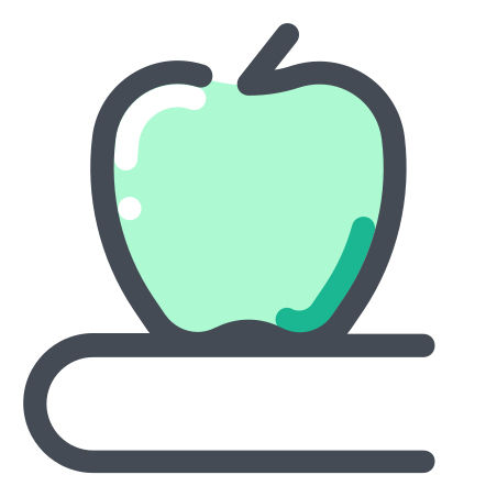 Physics Book icon in Pastel