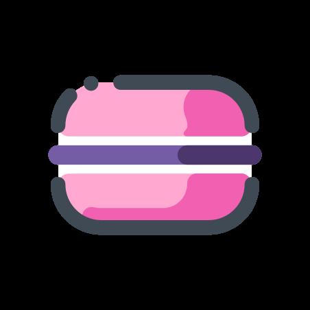 Pink Macaron icon