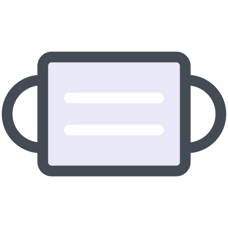 Protection Mask icon in Pastel