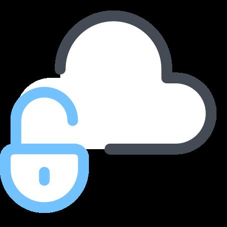 Public Cloud icon in Pastel