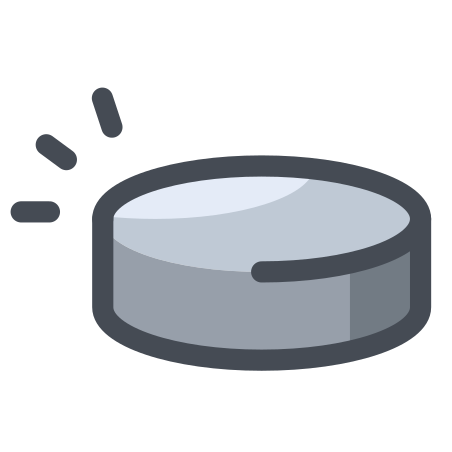 Puck icon in Pastel