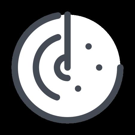 레이더의 icon in 파스텔