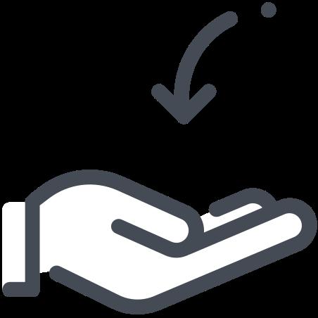 Recieve icon