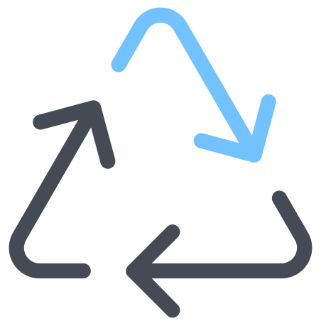 Recycle Arrows Triangle icon
