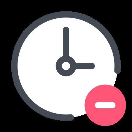 Remove Clock icon