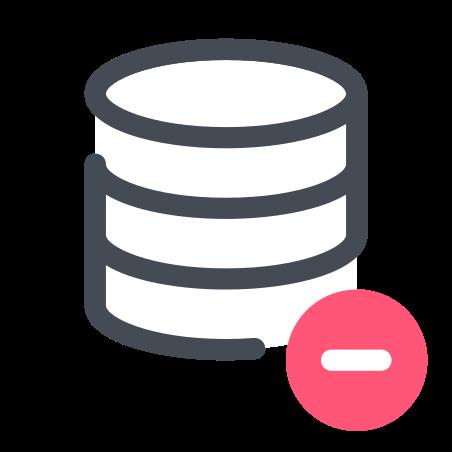 Remove Data icon