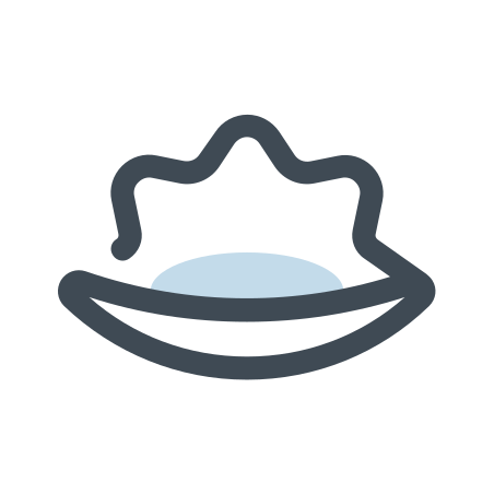 조개 icon in 파스텔
