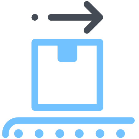 Shipping Centre Loading Belt icon