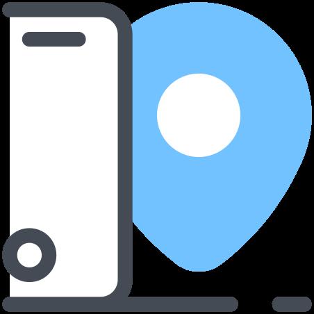 Smartphone Tracking icon