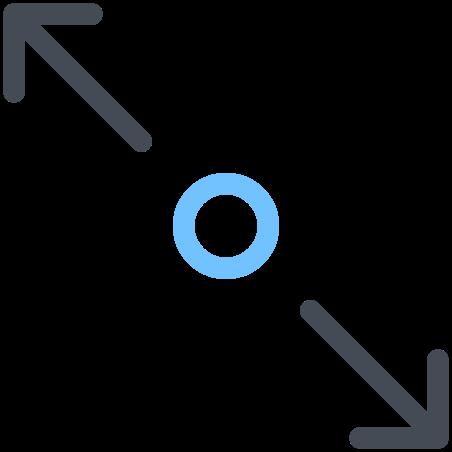 Stretch Diagonally icon