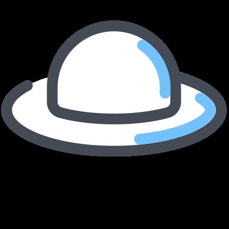 Summer Hat icon in Pastel