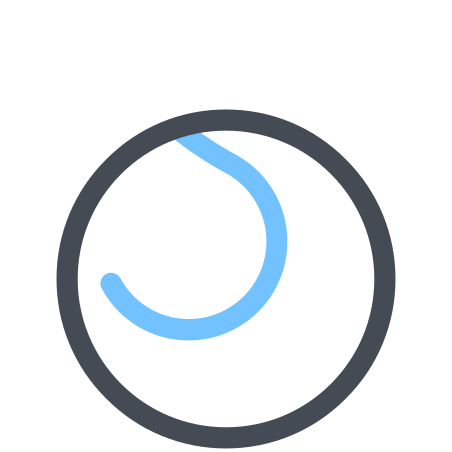 Tennis Ball icon in Pastel
