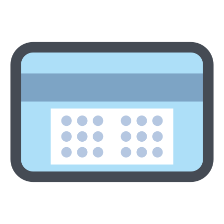 토큰 카드 코드 icon