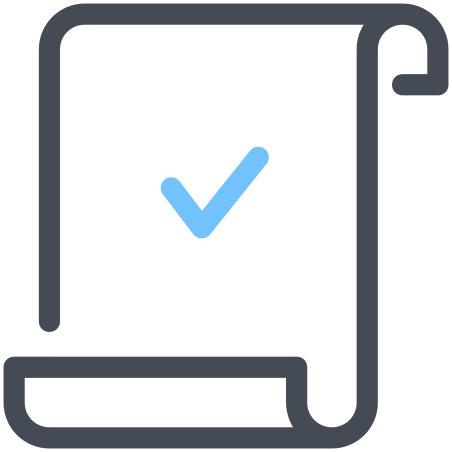 Verified Scroll icon