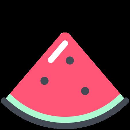Watermelon icon in Pastel