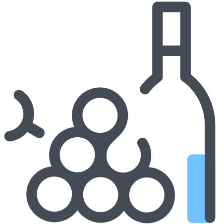 Wine and Grapes icon