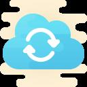 cloud sync icon