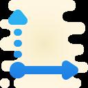 abscissa icon