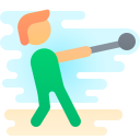 hammer throw icon
