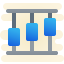 vertical timeline icon
