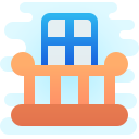 Balcony icon