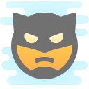 Batman Emoji icon