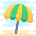 Beach Umbrella Icon Free Download Png And Vector
