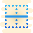 Bordure horizontale icon