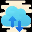 クラウドバックアップの復元 icon
