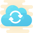 cloud sync icon