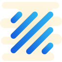Linee diagonali icon