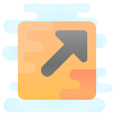 External Link Squared icon