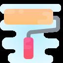 roller brush icon