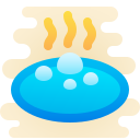 hot springs icon