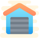 garage closed icon