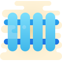 heating radiator icon