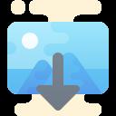 Insert Raster Image icon