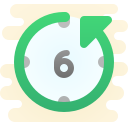 Letzte 6 Stunden icon