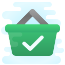 Full Shopping Basket icon