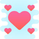 small hearts icon